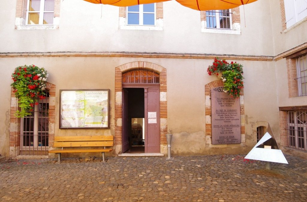 La maison natale de Pierre Fermat à Beaumont de Lomagne