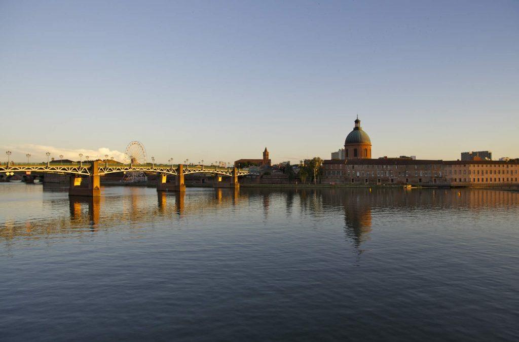 Le quai de la Daurade – Toulouse