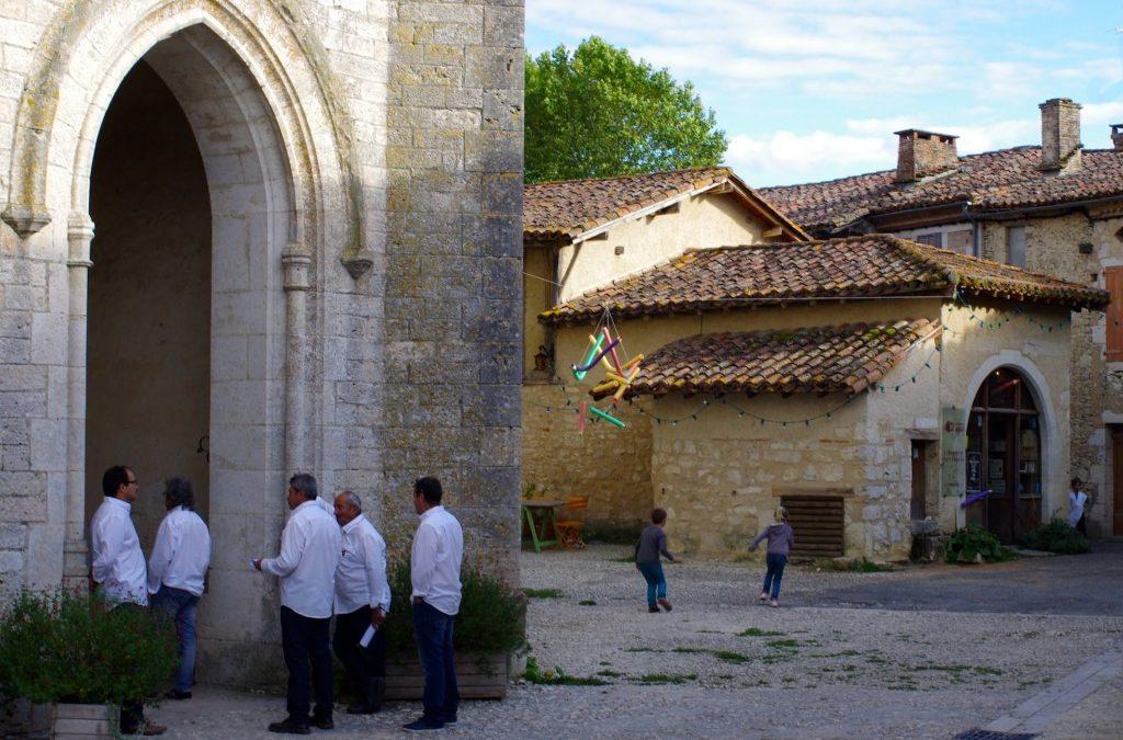 A l'occasion des journées du patrimoine, Sarrant, Gers