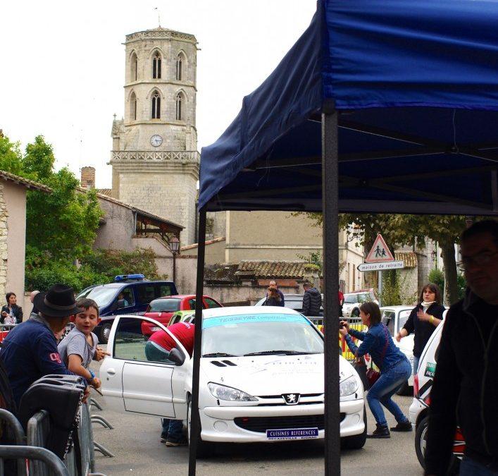 Le rallye de Larrazet, au profit du téléthon…