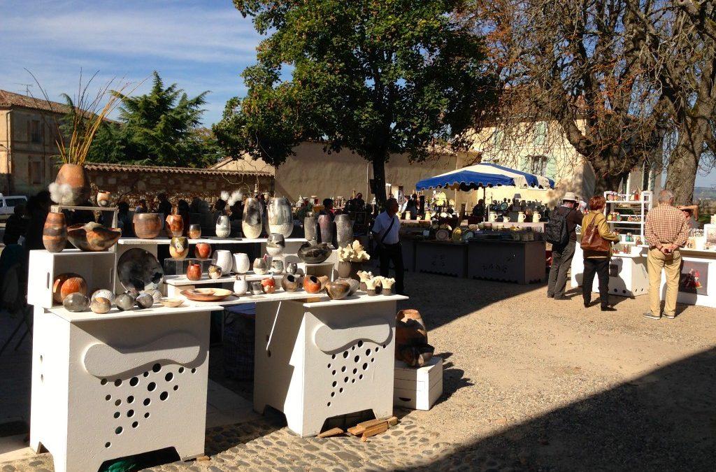 Le marché des potiers d'Auvillar, au cœur du Tarn-et-Garonne
