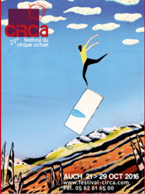 Circa, festival du cirque à Auch dans le Gers.