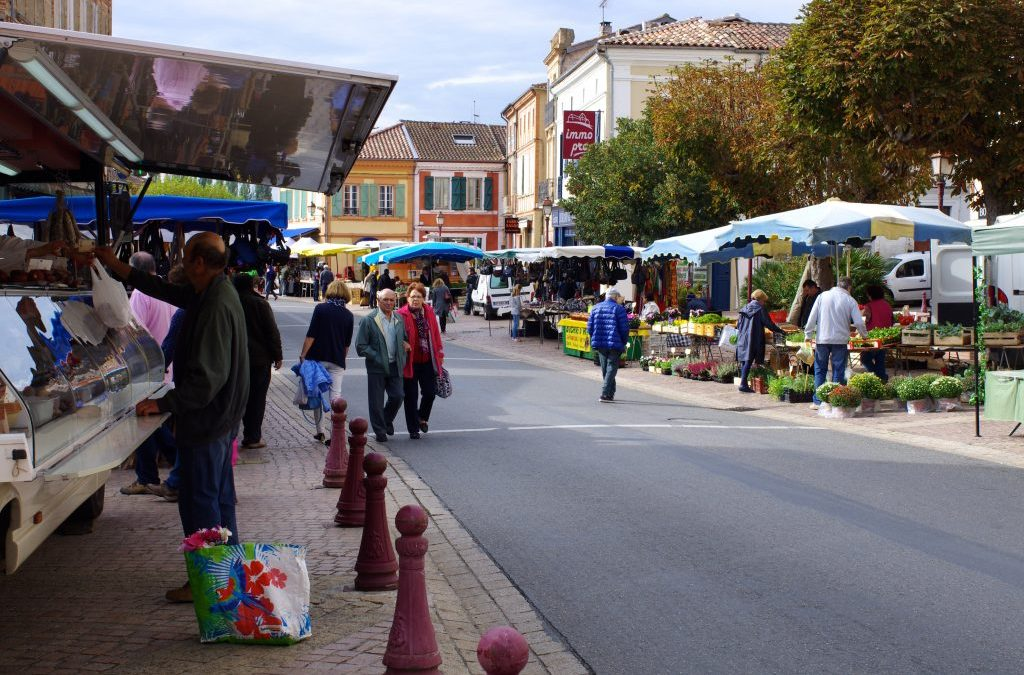 Marché de Samatan, Gers