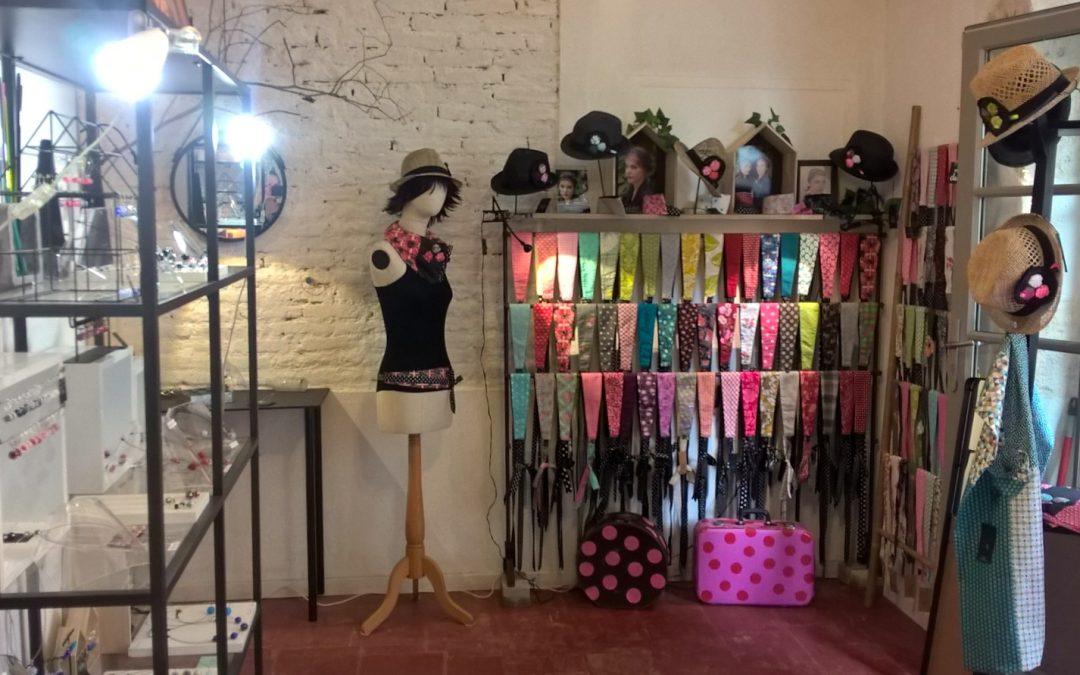 L'enchantée, boutique éphémère de créateurs à Sarrant, Gers
