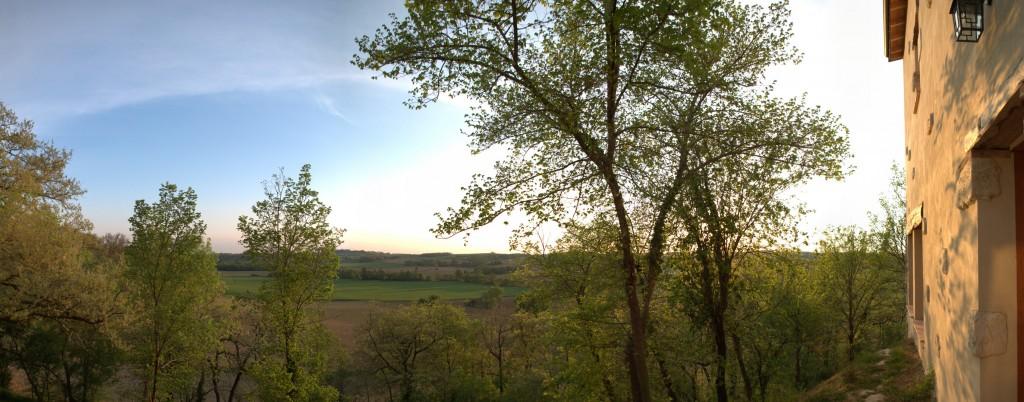 Promenade autour du Domaine – les fermes