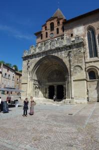 L'abbaye Saint-Pierre à Moissac