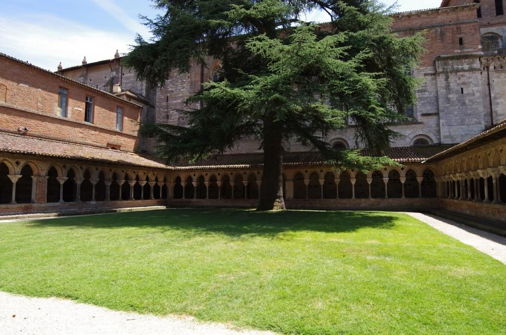 Le cloître de l'abbaye Saint-Pierre, à Moissac