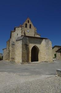 L'église Saint-Orens à Maubec (82)