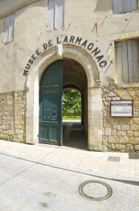entrée du musée de l'armagnac - condom