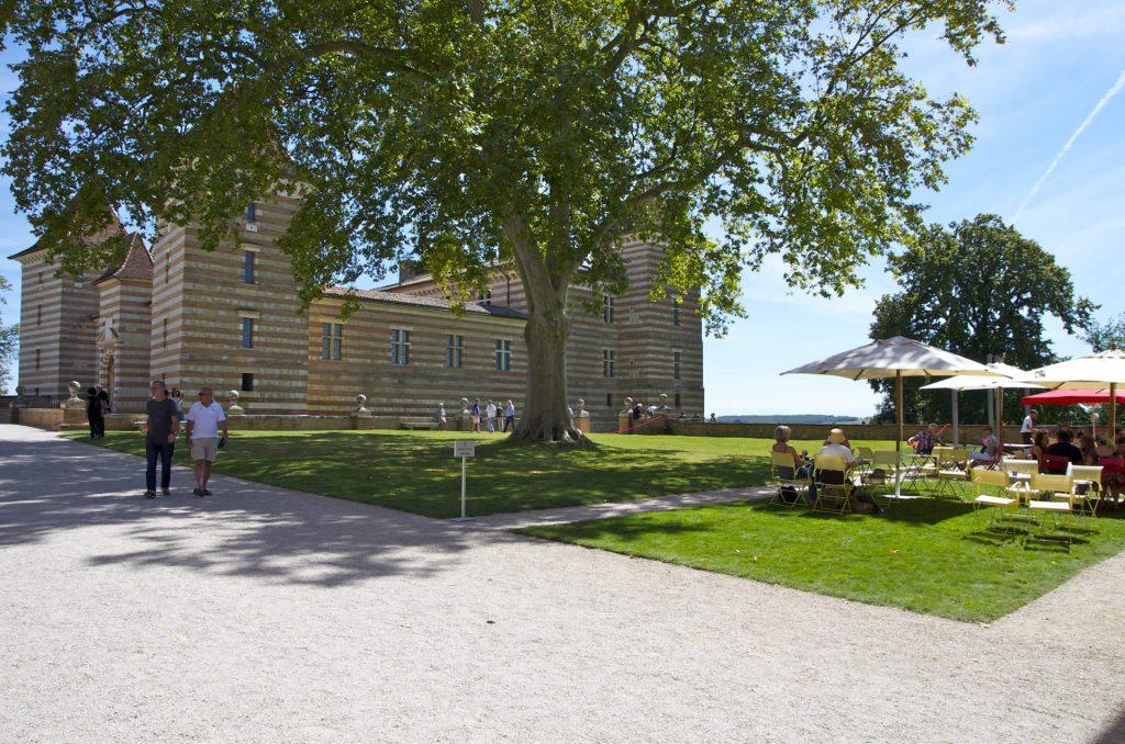 jardins du château de laréole