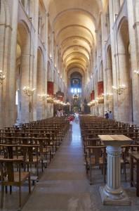 basilique saint-sernin, la nef