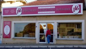 Une boucherie à proximité du grand gîte: Maison Philippe Berthier