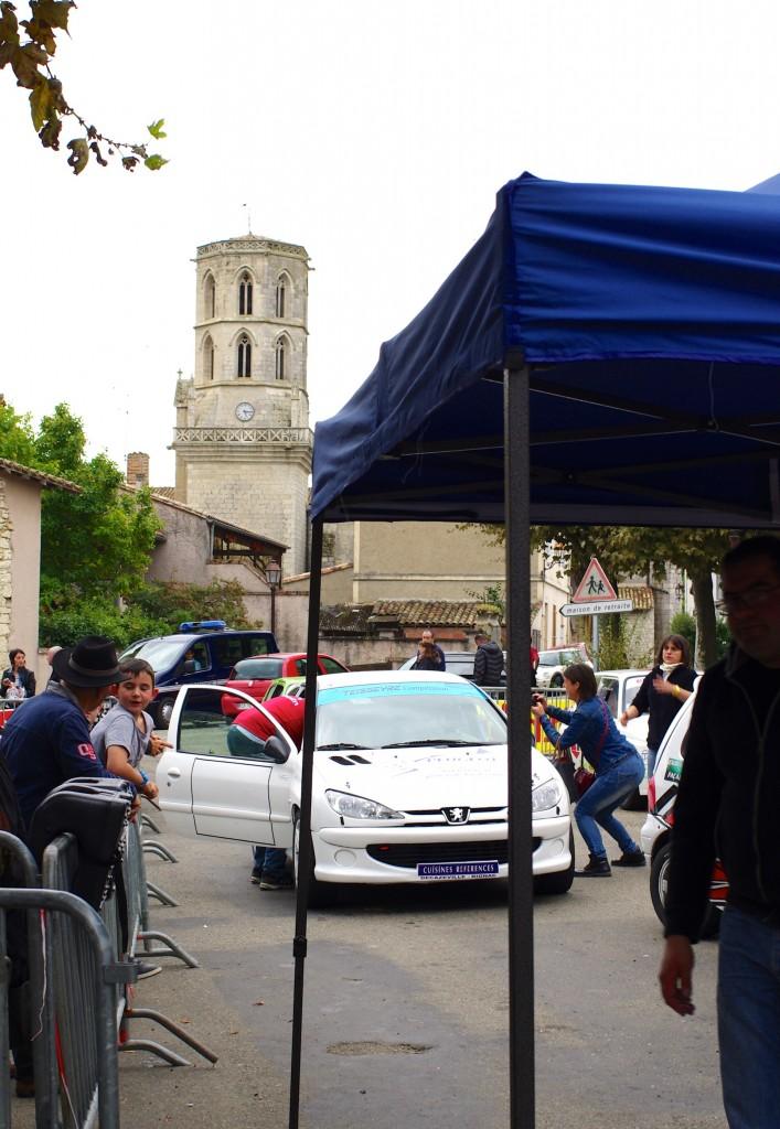 Rallye auto Larrazet