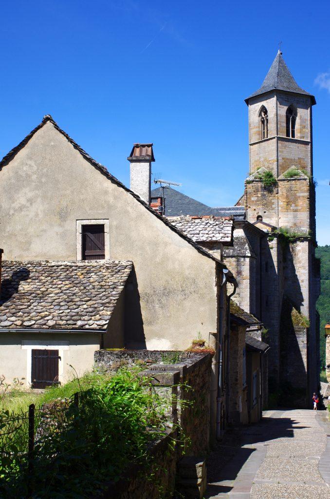 l'église de Najac