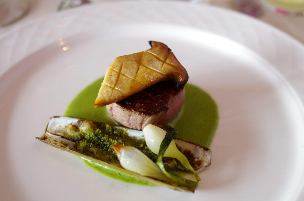 Filet de veau - Couteaux - eryngii - persil