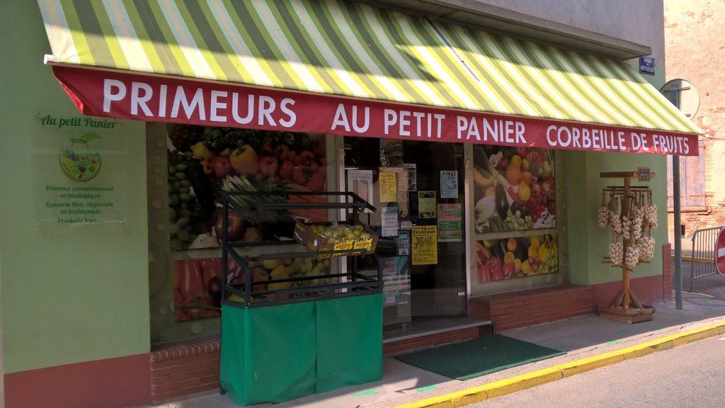 Au Petit Panier, primeur à Beaumont de Lomagne