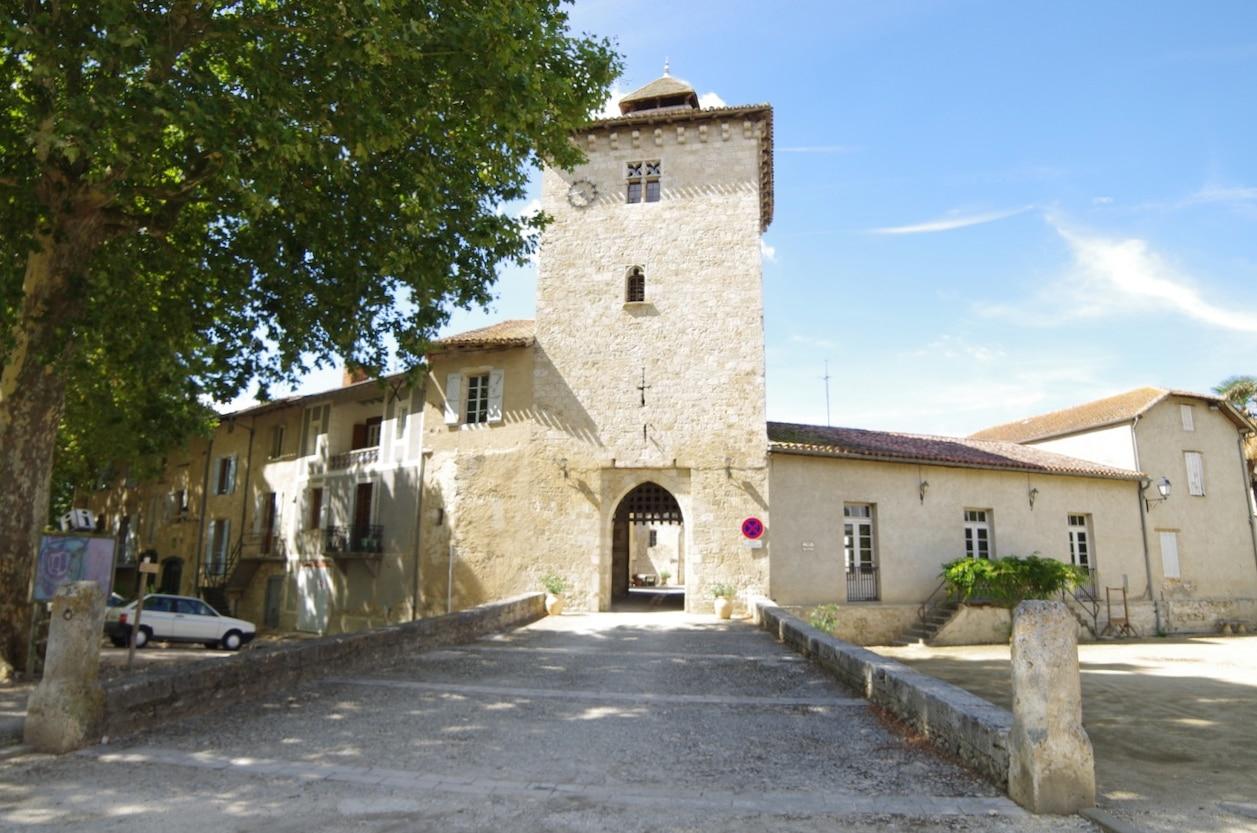 Gers Sarrant village médiéval