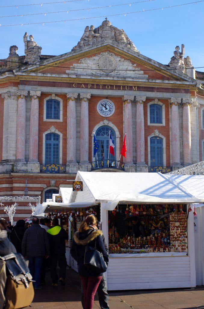 Toulouse, marché de Noël au Capitole