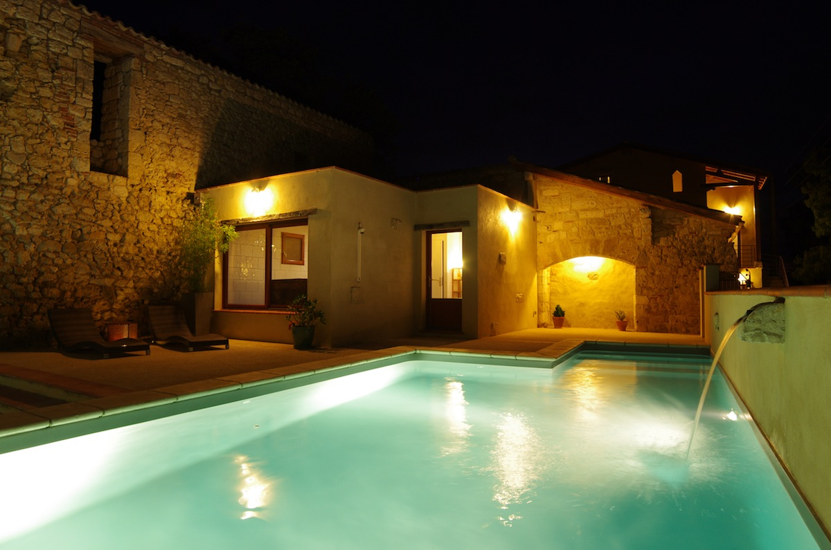 Gite de groupe piscine chauffée spa