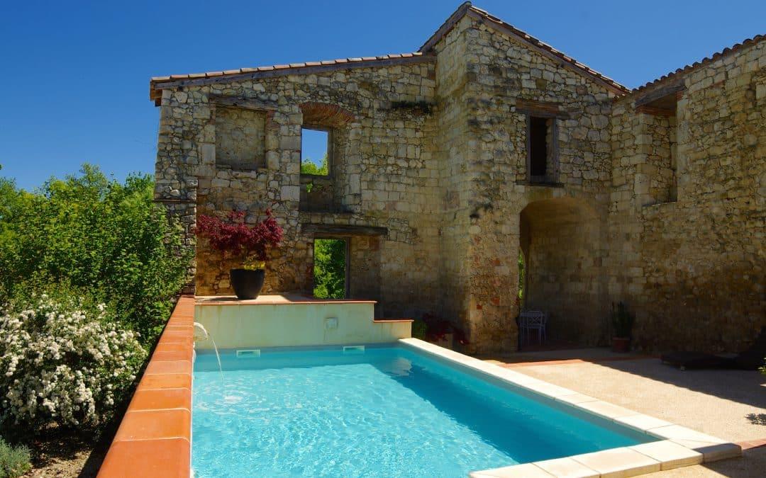 piscine chauffée espace détente