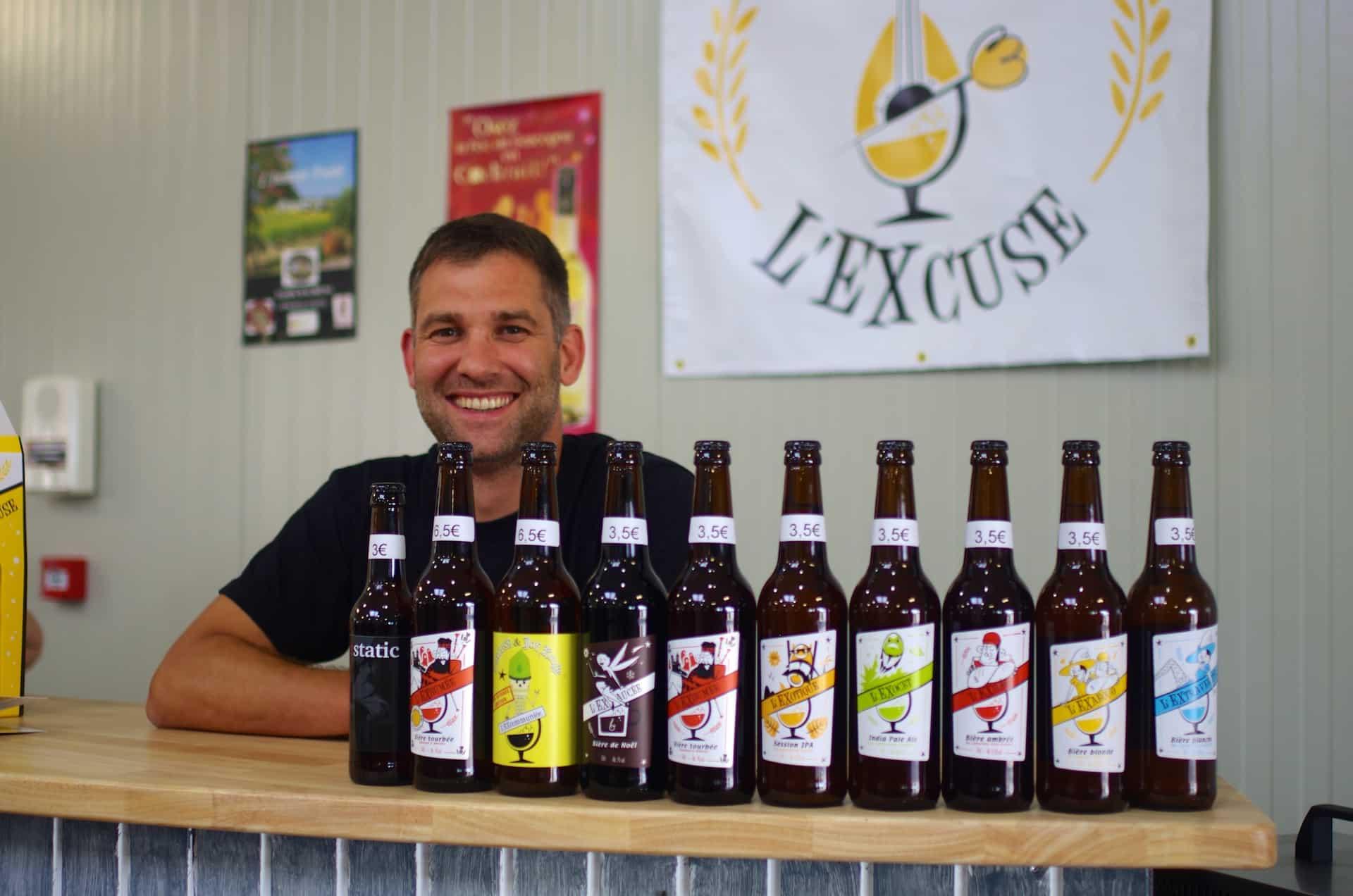 Brasserie l'excuse Gers Mauvezin bière artisanales
