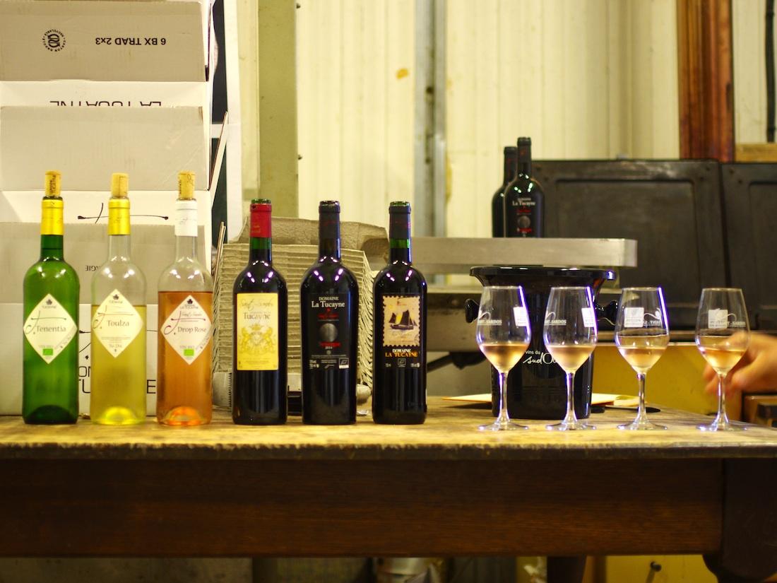 Vin du sud-ouest, Saint Sardos, gamme de la Tucayne