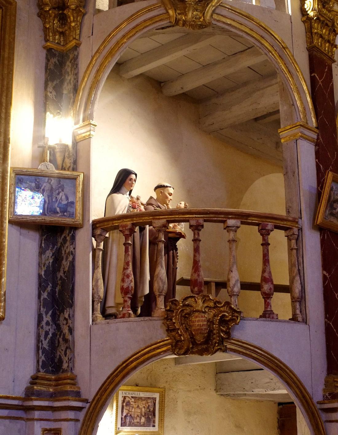 Balcon église de Lachapelle Tarn-et-Garonne