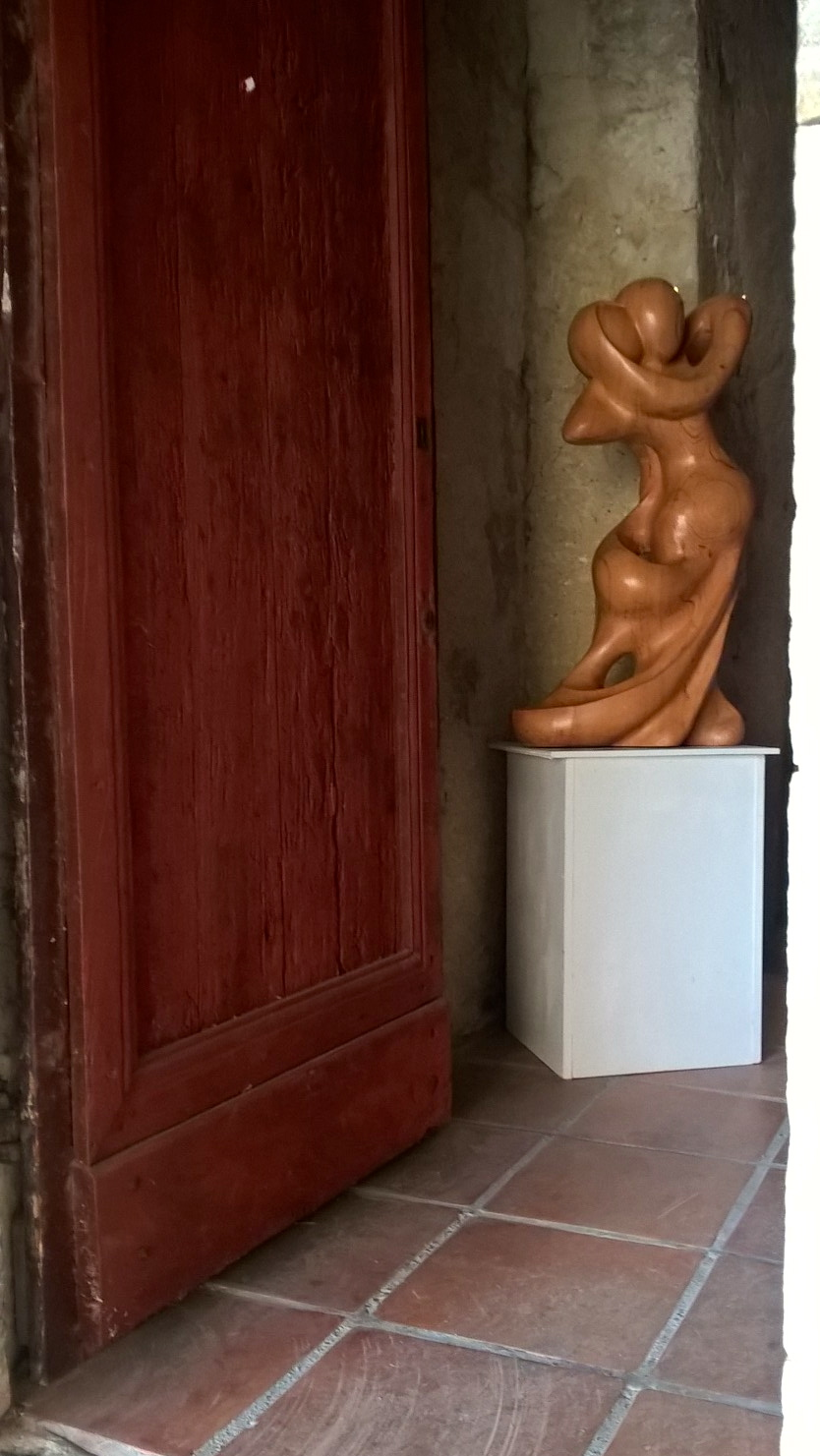 sarrant sculpture bois couderc