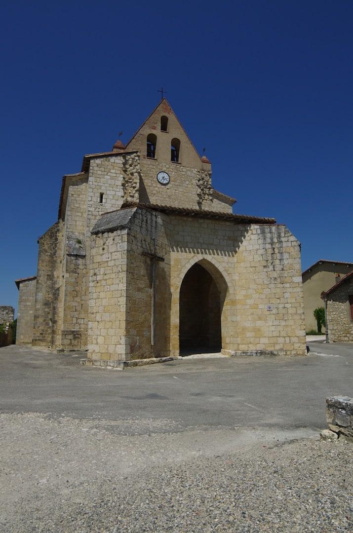 Maubec église tarn et garonne