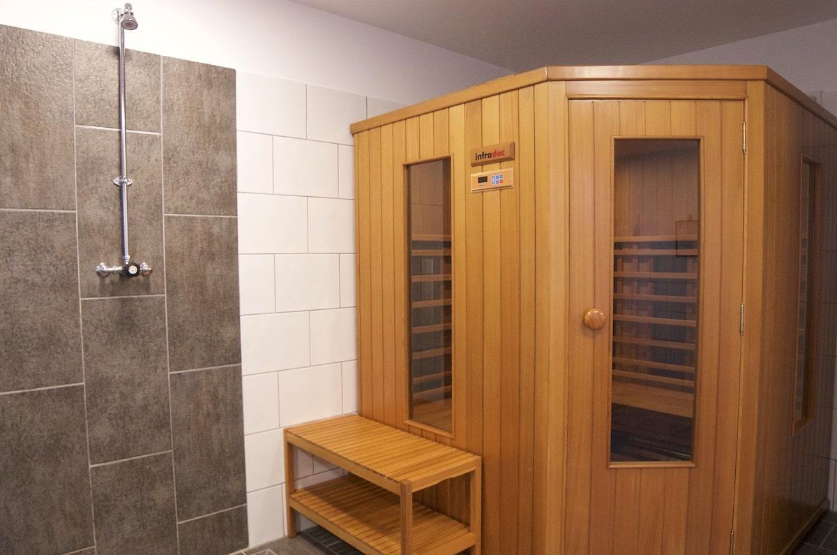 sauna grand gîte de charme